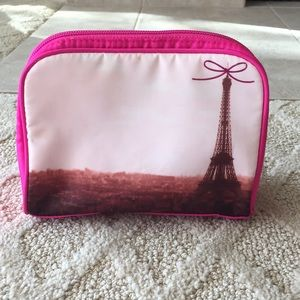 Bath and Body Works Eiffel Tower Makeup Bag